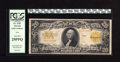 Large Size:Gold Certificates, Fr. 1187 $20 1922 Mule Gold Certificate PCGS Very Fine 25PPQ. The bold yellow-gold color is free of the often seen oxidizati...