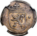 Netherlands East Indies, Netherlands East Indies: Dutch Colony - United Amsterdam Company1/4 Real ND (1601) XF40 NGC,...
