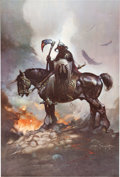 Memorabilia:Poster, Frank Frazetta Poster Group of 21 (Fairfax, c. 1970s).... (Total:21 Items)
