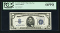 Small Size:Silver Certificates, Fr. 1654* $5 1934D Wide II Silver Certificate. PCGS Very Choice New 64PPQ.. ...