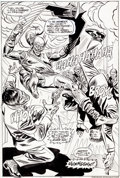 Original Comic Art:Splash Pages, Ross Andru and Mike Esposito Amazing Spider-Man #177 SplashPage 15 Green Goblin Original Art (Marvel, 1978)....
