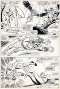 Original Comic Art:Panel Pages, John Romita Sr. and Mike Esposito Amazing Spider-Man #49 Page 15 Original Art (Marvel, 1967)....
