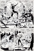 "Original Comic Art:Panel Pages, John Romita Sr., Don Heck, and Mike Esposito (as Mickey Demeo) Amazing Spider-Man #62 ""Make Way For --- Medusa!"" P..."