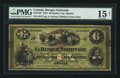 Canadian Currency: , Quebec City, PQ- La Banque Nationale $6 1870 May 28, 1870 Ch. #510-12-07. ...