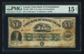 Canadian Currency: , Saint Johns, NF- Union Bank of Newfoundland £1 1880 Ch. #750-14-06. ...