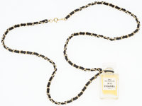 "Chanel No 5 Perfume Bottle Necklace 12"" Length Excellent Condition"