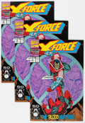 Modern Age (1980-Present):Superhero, X-Force #1-8 Group (Marvel, 1991-92) Condition: Average NM-....(Total: 22 Comic Books)