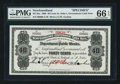 Canadian Currency: , St. John's NF- Newfoundland Government Cash Note 40¢ ND 1908 Ch. NF-2hs Specimen. ...
