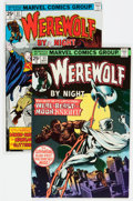 Bronze Age (1970-1979):Horror, Werewolf by Night #33 and 37 Group (Marvel, 1976) Condition:Average VF.... (Total: 2 Comic Books)
