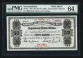 Canadian Currency: , St. John's NF- Newfoundland Government Cash Note 50¢ 1901 Ch. NF-3as Specimen. ...