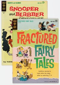 Fractured Fairy Tales #1/Snooper and Blabber #3 Group (Gold Key, 1962-63).... (Total: 2 Comic Books)