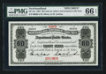 Canadian Currency: , St. John's NF- Newfoundland Government Cash Note 80¢ 1901 Ch. #NF-4as Specimen. ...