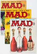 Magazines:Mad, MAD #42-49 Group (EC, 1958-59) Condition: Average FN-.... (Total: 7 Comic Books)