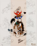 Animation Art:Limited Edition Cel, Yosemite Sam Ride 'em Sam! Limited Edition Cel #204/750(Warner Brothers, 1994).. ...