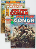 Magazines:Adventure, Savage Sword of Conan Group of 3 (Marvel, 1974-75).... (Total: 3 Comic Books)