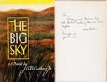 Books:Fiction, [Featured Lot]. A. B. Guthrie, Jr. INSCRIBED. The Big Sky. New York: William Sloane Associates, [1947]....