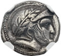 Ancients:Greek, Ancients: GRECO-BACTRIA. Sophytes, as Satrap (ca. 305-294 BC). AR drachm (16mm, 3.65 gm, 6h)....