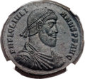 Ancients:Roman Imperial, Ancients: Julian II the Philosopher (AD 360-363). Æ maiorina (28mm,8.60 gm, 6h)....