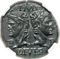 Ancients:Roman Imperial, Ancients: Augustus (27 BC-AD 14), with Marcus Agrippa (died 12 BC). Æ dupondius (26mm, 13.24 gm, 12h)....