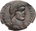 Ancients:Roman Imperial, Ancients: Magnentius (AD 350-353). Æ double centenionalis (28mm,10.37 gm, 11h)....