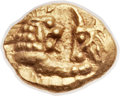 Ancients:Greek, Ancients: LYDIAN KINGDOM. Croesus (ca. 561-546 BC). AV 24th stater(7mm, 0.40 gm). ...