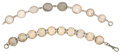 Miscellaneous:Ephemera, Two bracelets. One made from eight British, Canadian and Chinese coins in a variety of denominations, dated 1880 to 1919; and ... (Total: 2 Items)