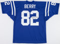 Football Collectibles:Uniforms, Raymond Berry Signed Baltimore Colts Jersey....
