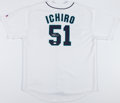 Baseball Collectibles:Uniforms, Ichiro Suzuki Signed Seattle Mariners Jersey....