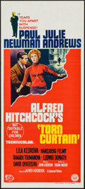 "Movie Posters:Hitchcock, Torn Curtain (Universal, 1966). Australian Daybill (13.25"" X 30"").Hitchcock.. ..."