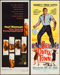 "Get Outta' Town & Others Lot (MCP, 1959). Inserts (3) (14"" X 36""). Crime. ... (Total: 3 Items)"