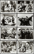 "Movie Posters:War, The Longest Day (20th Century Fox, 1962). Photos (13) (8"" X 10"").War.. ... (Total: 13 Items)"