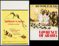 "Movie Posters:Academy Award Winners, Lawrence of Arabia (Columbia, R-1963/R-1971). Window Card (14"" X22"") and Uncut Pressbook (20 Pages, 14"" X 17.5""). Academy A...(Total: 2 Items)"