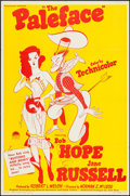 """Movie Posters:Comedy, The Paleface (Paramount, R-1958). One Sheet (27"""" X 41""""). Comedy....."""