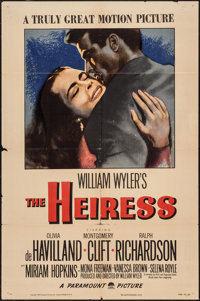 "The Heiress (Paramount, 1949). One Sheet (27"" X 41""). Drama"