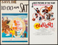 "Movie Posters:Academy Award Winners, Oliver! & Other Lot (Columbia, 1968). Window Cards (2) (14"" X22""). Academy Award Winners.. ... (Total: 2 Items)"