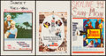 "Movie Posters:Romance, Rome Adventure & Others Lot (Warner Brothers, 1962). Window Cards (3) (14"" X 22""). Romance.. ... (Total: 3 Items)"