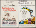 "Movie Posters:Adventure, Those Magnificent Men in Their Flying Machines & Other Lot(20th Century Fox, 1965). Window Cards (2) (14"" X 22"").Adventure..."