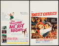 "Movie Posters:Musical, Sweet Charity & Other Lot (Universal, 1969). Window Cards (2) (14"" X 22""). Musical.. ... (Total: 2 Items)"