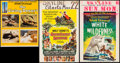 "Movie Posters:Adventure, Swiss Family Robinson & Others Lot (Buena Vista, 1960). WindowCards (2) (14"" X 22"") and Trimmed Window Card (13.25"" X 16.5""...(Total: 3 Items)"