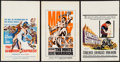 "Movie Posters:Adventure, The Warrior Empress & Others Lot (Columbia, 1960). Window Cards(3) (14"" X 22""). Adventure.. ... (Total: 3 Items)"