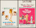 """Movie Posters:Comedy, Who's Been Sleeping in My Bed? & Other Lot (Paramount, 1963). Window Cards (2) (14"""" X 22""""). Comedy.. ... (Total: 2 Items)"""