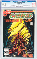Modern Age (1980-Present):Superhero, Crisis on Infinite Earths #8 (DC, 1985) CGC NM/MT 9.8 White pages....