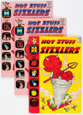 Silver Age (1956-1969):Humor, Hot Stuff Sizzlers File Copies Box Lot (Harvey, 1960-75) Condition: Average NM-....