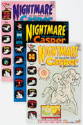 Bronze Age (1970-1979):Cartoon Character, Casper-Related File Copies Box Lot (Harvey, 1960s-80s) Condition:Average NM-....