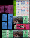 Baseball Collectibles:Tickets, 1930's - 1980's Pittsburgh Pirates Tickets & Stubs Collection(12)....