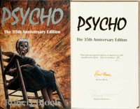 Robert Bloch. SIGNED/LIMITED. Psycho. The 35th Anniversary Edition. [Springfield, PA:] Gauntlet
