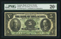Canadian Currency: , Halifax, NS- Bank of Nova Scotia $5 July 2, 1918 Ch. # 550-30-02. ...