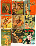 Books:Children's Books, [Edgar Rice Burroughs]. Group of Eight Mostly Tarzan RelatedBig Little and Better Little Books. Racine, WI: Whi... (Total: 9Items)