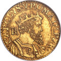 Italy:Naples, Italy: Naples. Charles V gold 2 Scudi d'oro ND(1519-56)-B MS63 NGC,...