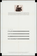 "Movie Posters:Documentary, Four Days in November (United Artists, 1964). One Sheet (27"" X 41""). Documentary.. ..."